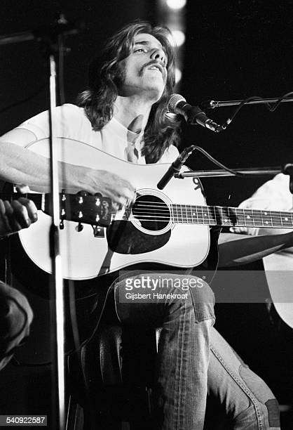 Glenn Frey of American group Eagles performs live on stage at on the 'Pop Gala' TV show Voorburg Netherlands 10th March 1973
