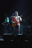 Glenn Frey of the Eagles performs at the Target Center in Minneapolis Minnesota on February 22 1995