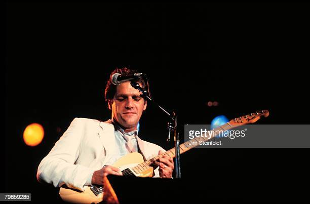 Glenn Frey of the Eagles performs on a solo tour in Minnesota in July 1985