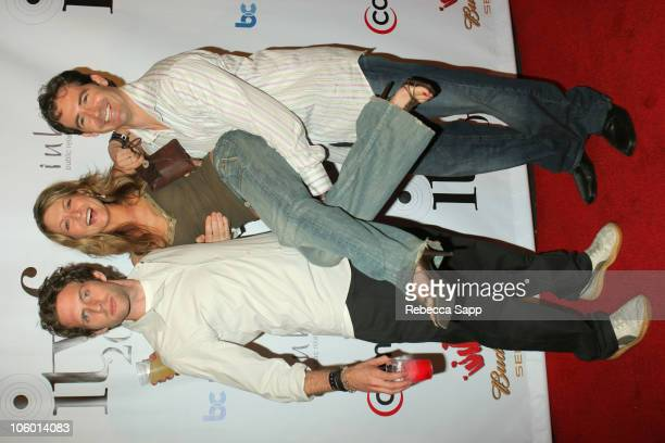 Glenn Howerton Ali Hillis and Tom Beckett during Independent Television Festival Event July 27 2006 at Raleigh Studios in Los Angeles California...