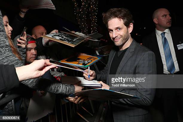 Glenn Howerton attends the Premiere Of FXX's 'It's Always Sunny In Philadelphia' Season 12 And 'Man Seeking Woman' Season 3 at Fox Bruin Theatre on...