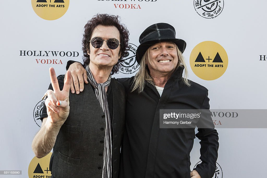 Glenn Hughes and Robin Zander attend the Adopt The Arts: Benefit Concert And Auction For Music And Arts Programs In LAUSD Schools - Show at The Fonda Theatre on May 12, 2016 in Los Angeles, California.