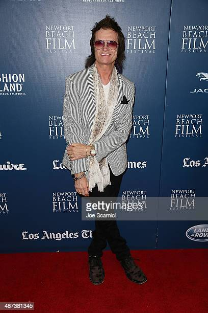Glenn Hughes attends the 2014 Newport Beach Film Festival World Premiere of yhe Quiet Riot documentary 'Well Now You're Here There's No Way Back' at...