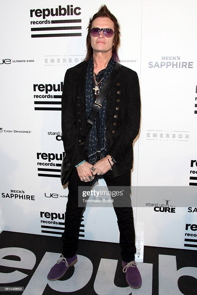 Glenn Hughes attends the Republic Records post GRAMMY party held at The Emerson Theatre on February 10, 2013 in Hollywood, California.