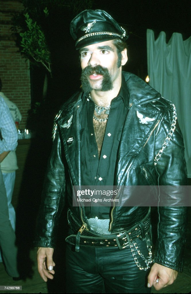 Glenn Hughes of The Village People poses for a photo circa 1980 in Los Angeles, California.