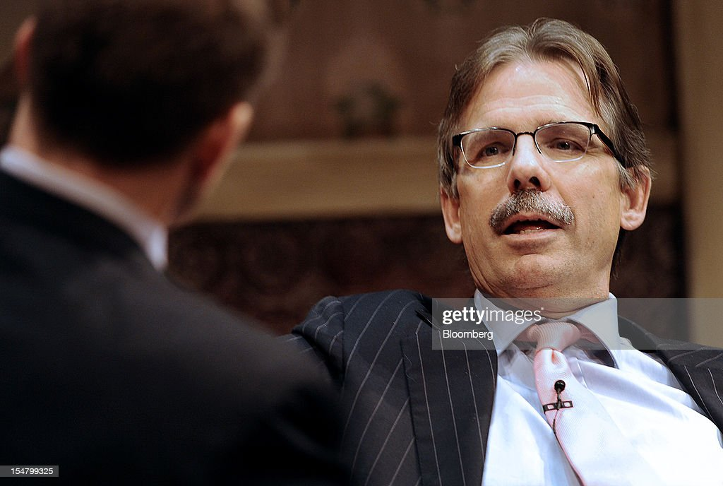 Glenn Hutchins, co-founder of Silver Lake Credit, speaks at the Bloomberg Dealmaker Summit in New York, U.S., on Thursday, Oct. 25, 2012. The third Bloomberg Dealmakers Summit brings the biggest rainmakers in mergers and acquisitions and private equity to look at deal flow, leveraged buyouts and initial public offering activity from a sector-specific view, exploring, health care, technology and sports amidst the impending U.S. elections. Photographer: Peter Foley/Bloomberg via Getty Images