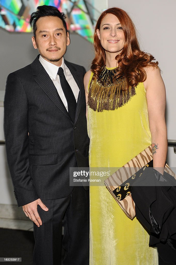 Glenn Kaino and Corey Lynn Calter attend Hammer Museum 11th Annual Gala In The Garden With Generous Support From Bottega Veneta, October 5, 2013, Los Angeles, CA at Hammer Museum on October 5, 2013 in Westwood, California.