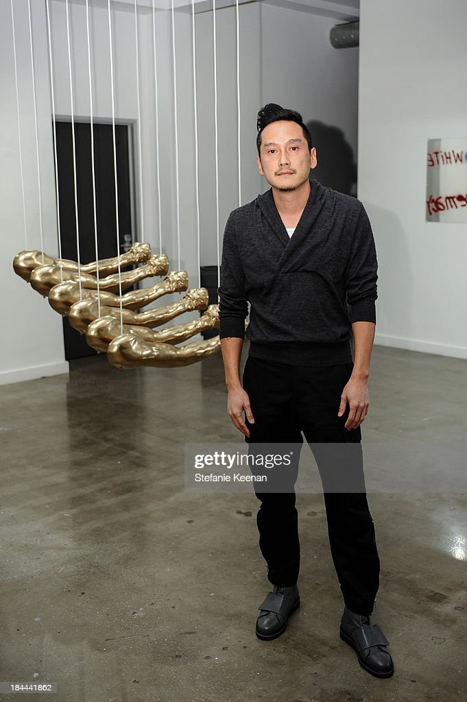 Glenn Kaino attend The Mistake Room's Benefit Auction on October 13, 2013 in Los Angeles, California.