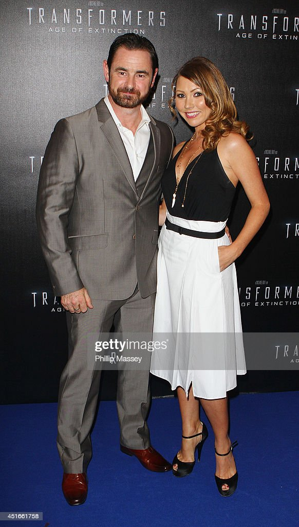 Glenn Keogh and Sinead Considine attend the Irish Premiere of 'Transformers 4: Age of Extinction' at Savoy Cinema on July 3, 2014 in Dublin, Ireland.