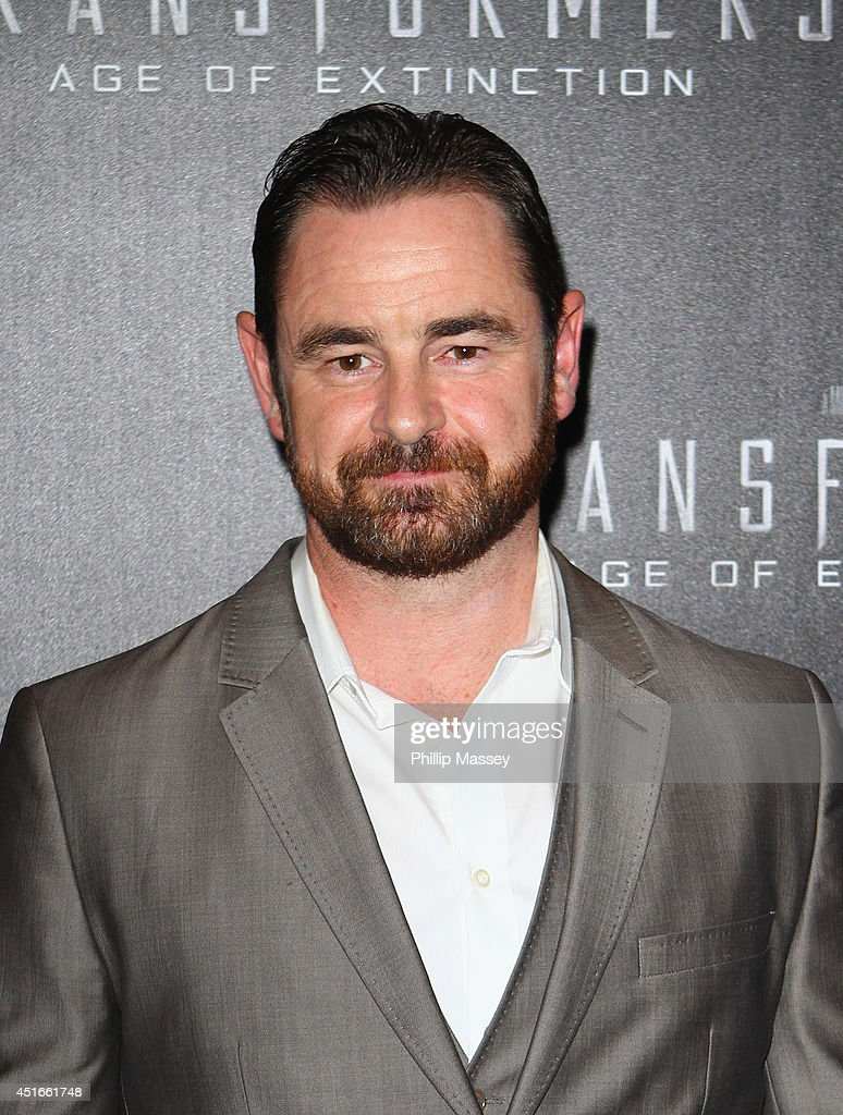 Glenn Keogh attends the Irish Premiere of 'Transformers 4: Age of Extinction' at Savoy Cinema on July 3, 2014 in Dublin, Ireland.