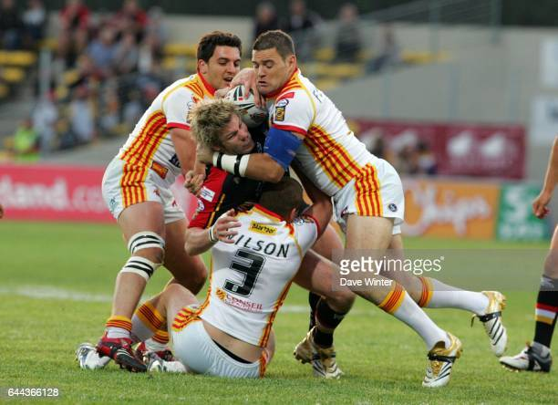 Glenn MORRISON Dragons Catalan / Bradford Bulls Engage Super League 16e journee Photo Dave Winter / Icon Sport