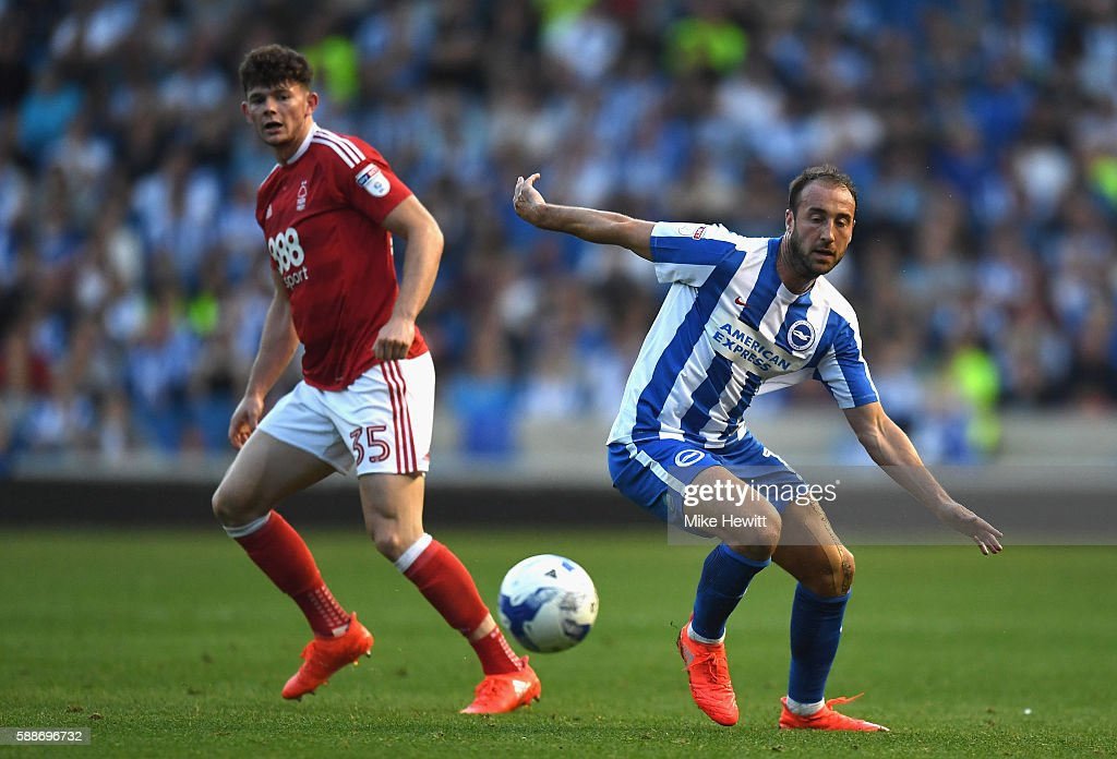 Brighton & Hove Albion, v Nottingham Forest: Sky Bet Championship : News Photo