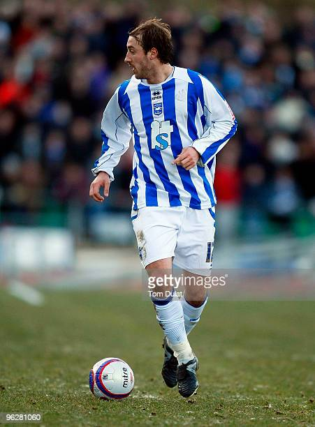 Glenn Murray of Brighton and Hove Albion in action during the CocaCola Division One Championship match between Brighton Hove Albion and Millwall at...