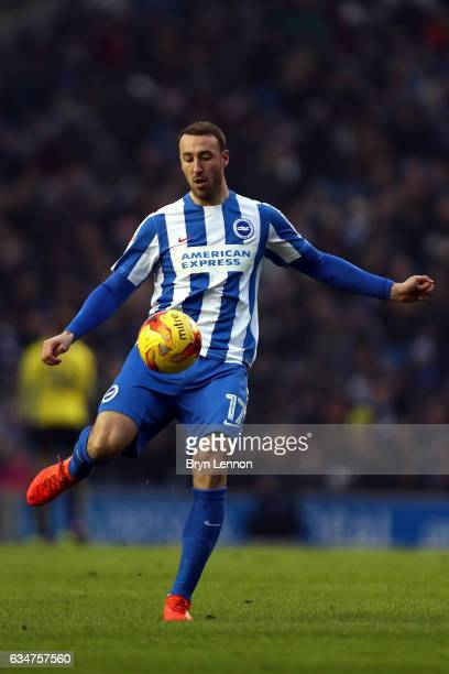 Glenn Murray of Brighton Hove Albion in action during the Sky Bet Championship match between Brighton Hove Albion and Burton Albion at Amex Stadium...