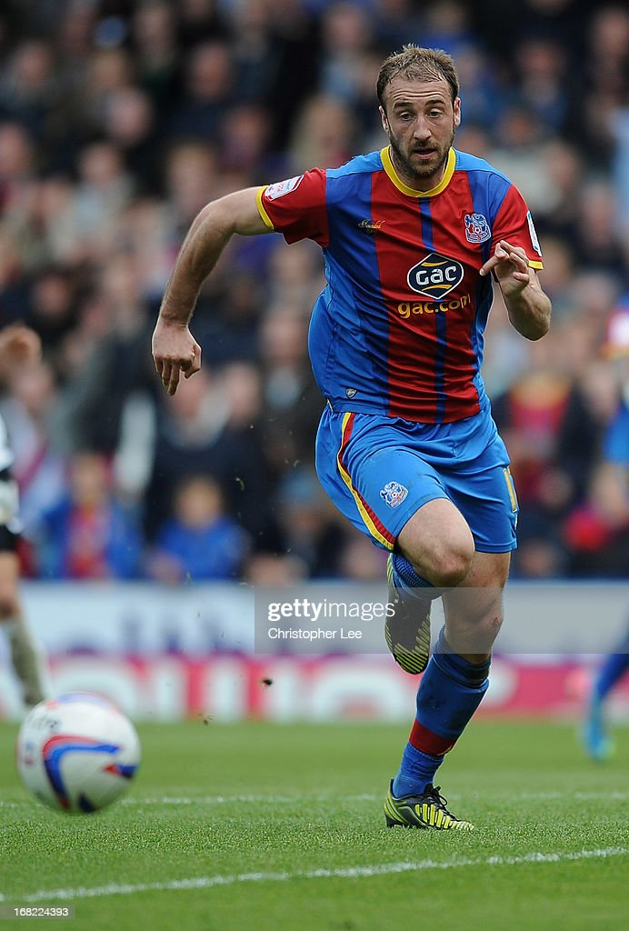 Glenn Murray of Crystal Palace during the npower Championship match between Crystal Palace and Peterborough United at Selhurst Park on May 04, 2013 in London, England.