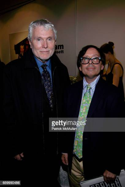 Glenn O'Brien and Bobby Grossman attend MINA GALLERY hosts SAM BASSETT and BOBBY GROSSMAN at Mina Gallery on May 14 2009 in New York City