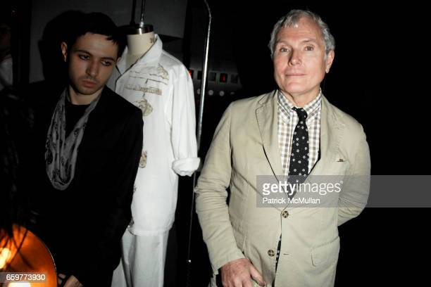 Glenn O'Brien attends A CREATIVE TIME Slumber Party Launching Limited Edition Pajamas by WILL COTTON at ACE Hotel on November 18 2009 in New York City