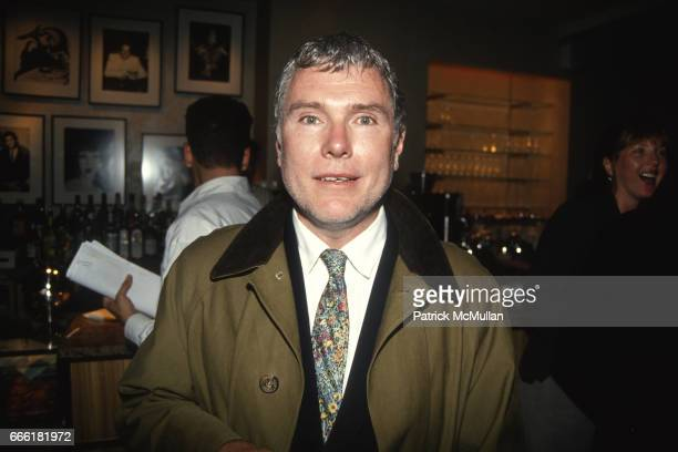 Glenn O'Brien attends VIBE at Mad 61 Barney New York on June 6 1994 in New York City