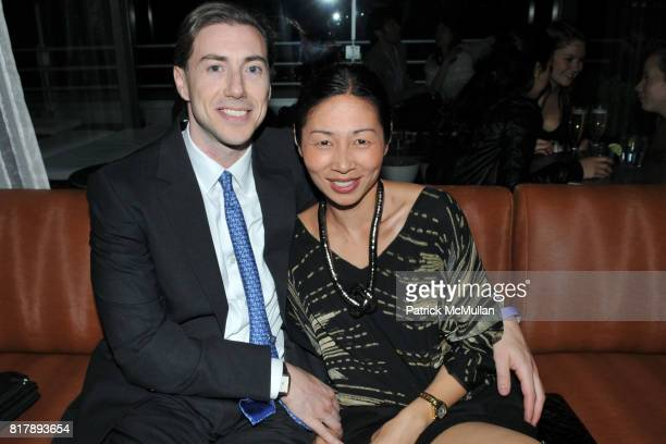 Glenn Shapiro and Nicole Wan attend ASSOCIATION to BENEFIT CHILDREN Junior Committee Fundraiser at Gansevoort Hotel on September 14 2010 in New York...