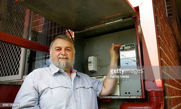 Glenn Sidney of Elermore Vale saves money on his power bills by using a smart meter
