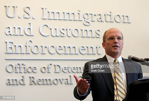Glenn Triveline Chicago field office director of immigration and custom enforcement explains the process by which Elvirra Arellano was deported...