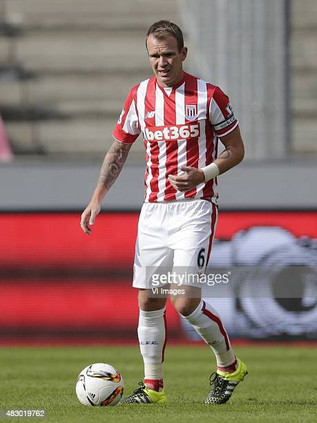 Glenn Whelan of Stoke City during the Colonia Cup match between FC Porto and Stoke City on August 2 2015 at the RheinEnergieStadion in Koln Germany