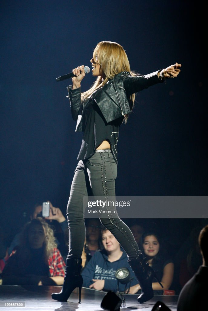 Glennis Grace performs at Night Of The Proms at Ahoy on November 23, 2012 in Rotterdam, Netherlands.
