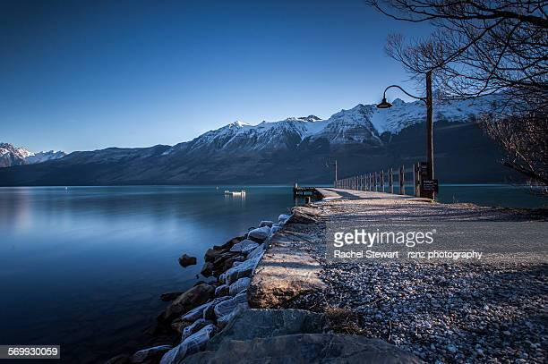 Glenorchy Pier, Queenstown, New Zealand