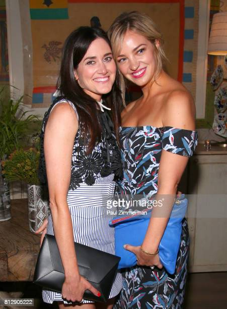 Glick and Abby Elliott attend as The Cinema Society and Kargo host the after party for the season 3 premiere of Bravo's 'Odd Mom Out' at the Whitby...