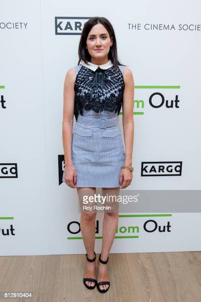Glick attends The Cinema Society and Kargo host the season 3 Premiere Of Bravo's 'Odd Mom Out' at the Whitby Hotel on July 11 2017 in New York City