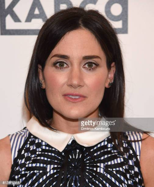 Glick attends The Cinema Society Hosts The Season 3 Premiere Of Bravo's 'Odd Mom Out' at the Whitby Hotel on July 11 2017 in New York City