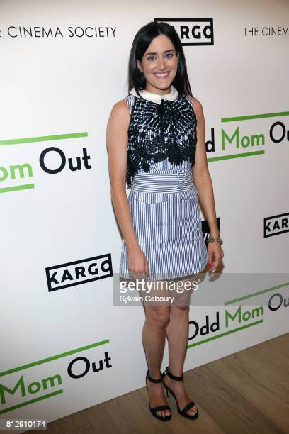 Glick attends The Cinema Society Kargo host the Season 3 Premiere of Bravo's 'Odd Mom Out' on July 11 2017 in New York City