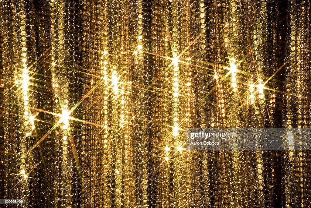 Glitter Curtain : Stock Photo
