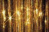 Glitter Curtain