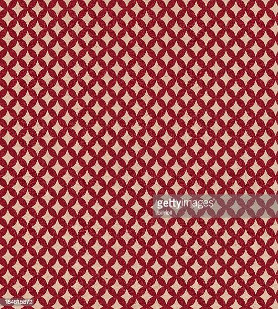 Motif diamant scintillant papier