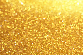 Golden Glitters Background