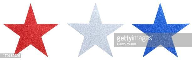 Glitter Sternen Linie (XXL