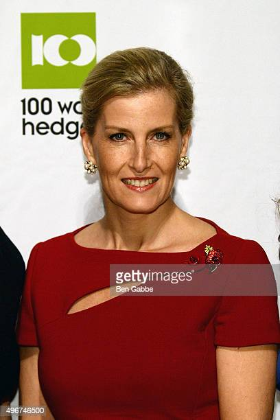 Global Ambassador of 100WHF's Next Generation Initiatives HRH Sophie The Countess of Wessex attends the 100WHF Foundation Gala at Cipriani 42nd...