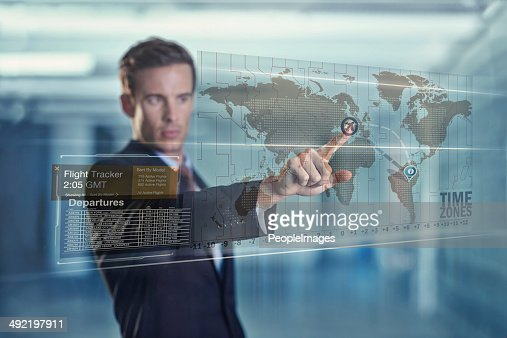 Global business at his fingertips