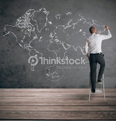 Global business : Stock Photo