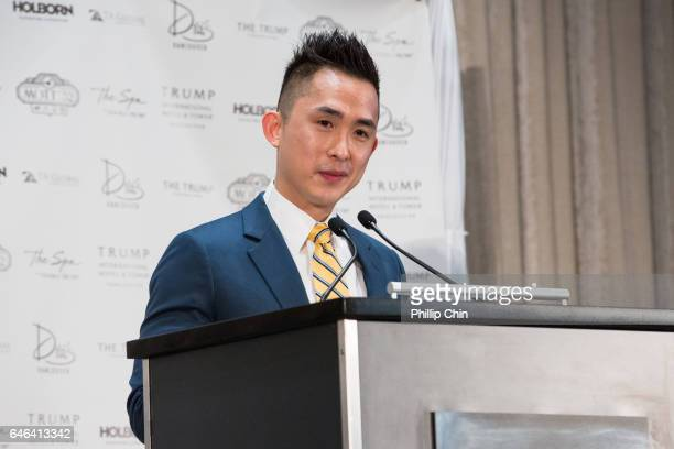 Global CEO Joo Kim Tiah attends the Trump International Hotel And Tower Vancouver Grand Opening on February 28 2017 in Vancouver Canada