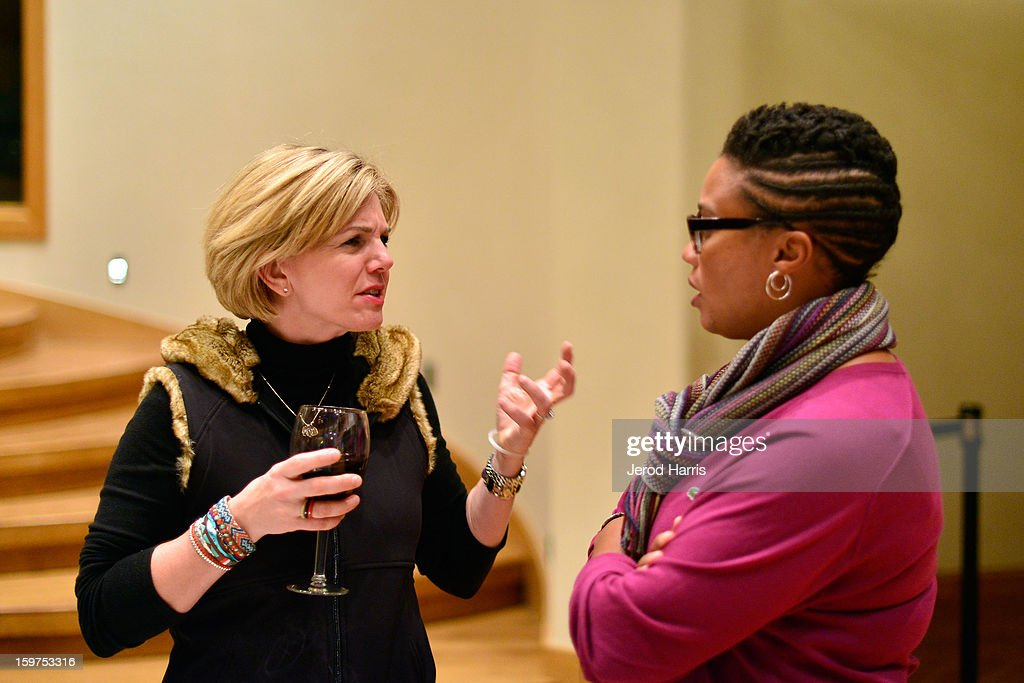Global Communications Jennifer 'JJ' Davis (L) attends Drink and Dine with Dell and #Inspire 100 Honorees at Sundance Film Festival on January 19, 2013 in Park City, Utah.