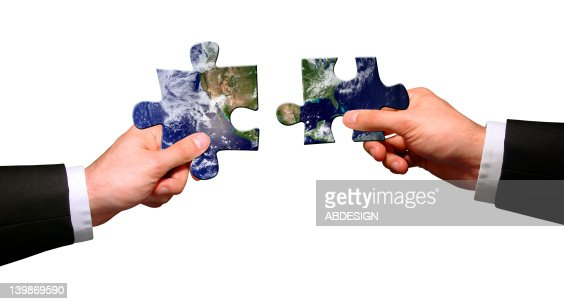 Global connection : Stock Photo