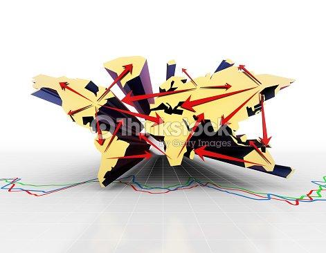 Carte Du Monde Origami.Economie Financiere Mondiale Activites Commerciales La Reussite