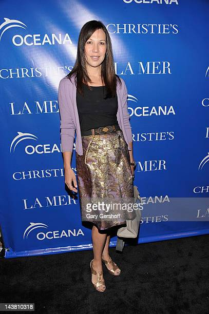 Global General Manager La Mer Sandra Main attends the 'La Revolution Bleue' screening at The Paris Theatre on May 3 2012 in New York City