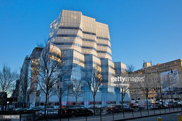 IAC global headquarters buildings glass facade along the West Side Highway,  Chelsea, New York, NY, USA