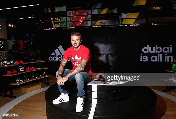 Global icon and footballing legend David Beckham today opened the new adidas HomeCourt concept store in the Mall of Emirates Dubai to the delight of...
