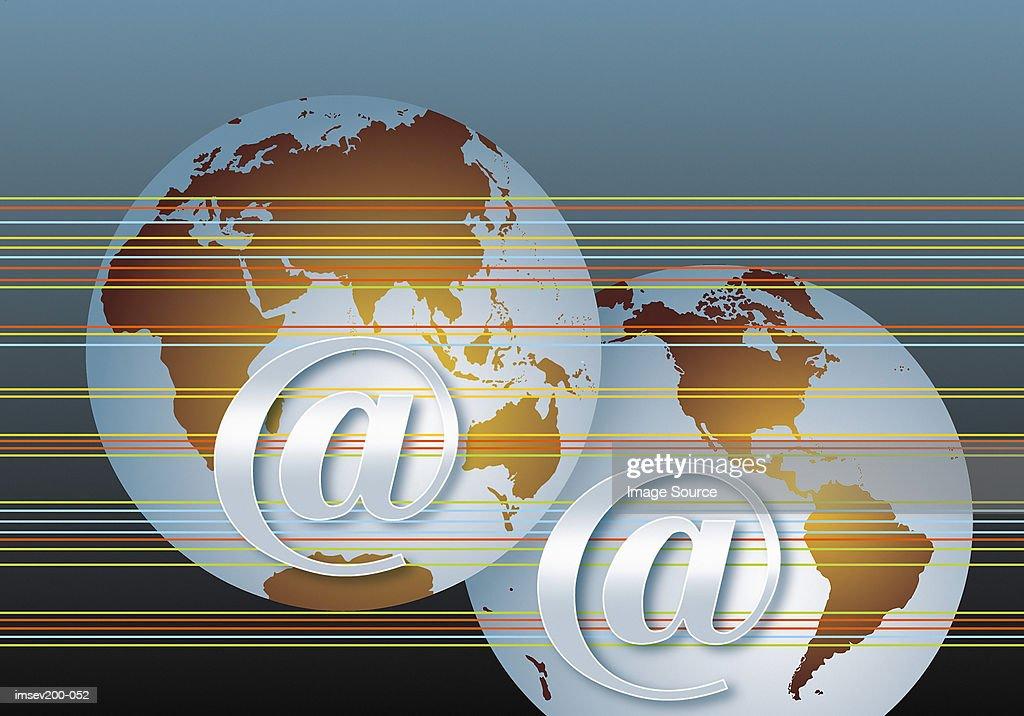 Global Internet : Stock Photo