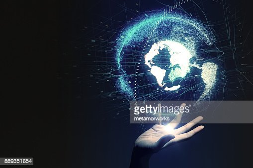 Global network concept. : Stock Photo