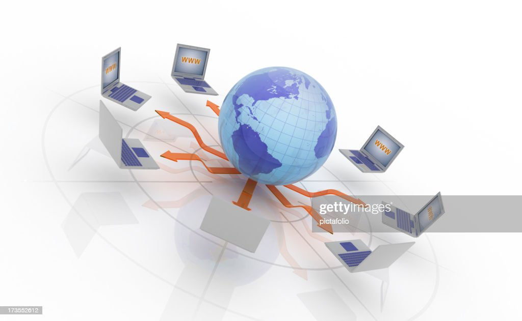 Global Network : Stock Photo